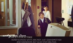 Henry & Snow White are not just grandmother and grandson, but also step-siblings.  I find this kind of weird and crazy