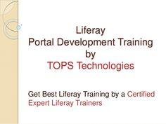 Liferay Portal Developer Training in Farmington Hills - http://www.vidhyalive.com/product/liferay-training/ #Netapptraining