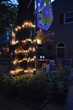 String  Light Add a a glow to our summer soiree (TheSistersSoiree.com)
