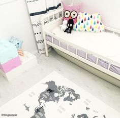 Image result for kaunis lasten huoneen matto Kids Room, Toddler Bed, Furniture, Image, Home Decor, Child Bed, Room Kids, Decoration Home, Room Decor