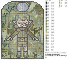 Zelda: OoT Stained Glass Windows cross stitch patterns {this is from the blog of one of the Sprite Stitch Board member's but I don't know which one!}