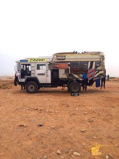 van-life:  Model: German 4x4 truck Location: Taghazout, Morocco (2015) Photo: Frank Hodgson, instagram: fjrhodgson
