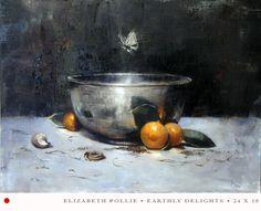 Elizabeth Pollie is an artist based in northern Michigan. Her work is stunning.