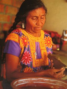 Handicrafters everywhere  Mexico