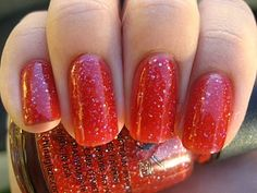 China Glaze Dynasty. The perfect strawberry red.