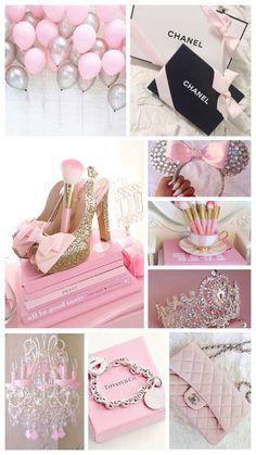 Pink in girlie Pink Love, Pretty In Pink, Pink Wallpaper Iphone, Idee Diy, Aesthetic Pastel Wallpaper, Everything Pink, Pink Princess, Pastel Pink, My Favorite Color