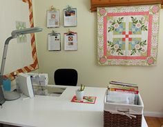 Sewing Room Tour | My Sewing Room Tour - The Crafty Quilter