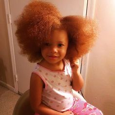 Natural Red Hair, Natural Hair Styles, Marron Hair Color, Cute Little Baby, Little Babies, Ginger Babies, Chocolate Babies, African American Babies, Cutest Babies