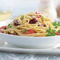 Chilled Veggie Pasta Salad is a light and fresh pasta to serve all throughout the summer months.