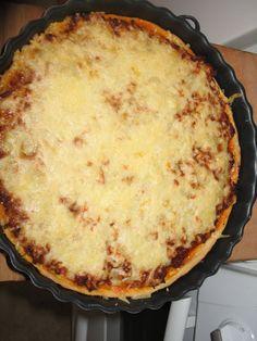 Pizza, Mozzarella, Quiche, Casserole, Food And Drink, Cheese, Cooking, Desserts, Corner