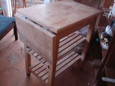 VINTAGE CUSTOM BUTCHERS BLOCK MADE BY GOVERNORS