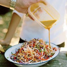 Jicama Slaw (prep vegetables and dressing at home) | 9 Gourmet Meals for Camping