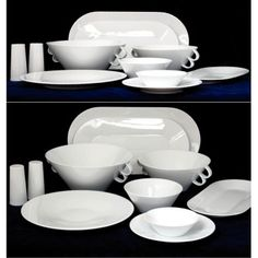 Bohemia Cobalt a White Old Country Kitchens, Home Kitchens, Dog Bowls, Cobalt, Tableware, Modern, Kitchen Ideas, Design, Bohemia