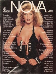 Xuxa Meneghel for Brazilian Cosmopolitan aka NOVA