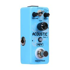 Foxgood China online store offer VSN AC Stage Acoustic Pedal Simulator Electric Guitar Effect Pedal product to sale at best price. Guitar Parts, Guitar Effects Pedals, Nintendo Wii Controller, Acoustic Guitar, Stage, Electric, China, Instruments, Kids