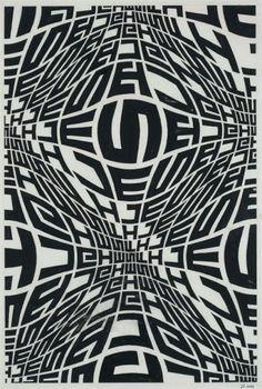 black and white, graphic design, poster, typography Poster Art, Typography Poster, Poster Prints, Graphic Design Illustration, Graphic Art, Graphic Posters, Op Art, Art Nouveau, Optical Illusions