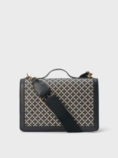 Equal parts chic and practical, this cross body bag features a detachable shoulder strap in sporty cotton webbing and a leather top handle for instant on-the-go wear. It has a back zipped pocket for easy access and an inner pocket with eight card slots. Fill yours with the essentials. Malene Birger, Slow Fashion, Small Bags, Louis Vuitton Damier, Shoulder Strap, Crossbody Bag, Sporty, Leather, How To Wear