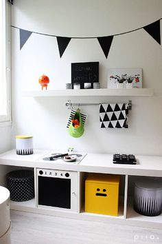 Most current Photos 10 X IKEA KALLAX HACKS Concepts The IKEA Kallax line Storage furniture is an important section of any home. They provide get and a Ikea Kallax Series, Ikea Kallax Shelf, Ikea Hack Kids, Hacks Ikea, Ikea Kallax Hack, Diy Play Kitchen, Diy Home Decor Bedroom, Art Wall Kids, Kid Spaces
