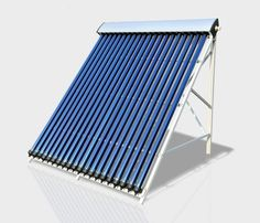 heat pipe solar collectors,with solar keymark certification.
