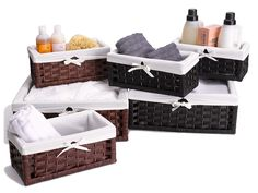 Paper Rope Utility Baskets