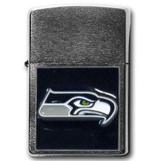 Show off your Seattle Seahawks spirit with licensed Zippo Lighters. Match your team with traditional Zippo quality.