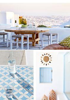 STYLISH HOLIDAY SUITES & VILLAS ON MYKONOS, GREECE | THE STYLE FILES