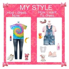 """""""My Style"""" by happypinkpanda ❤ liked on Polyvore featuring JunaRose, Muji, Zara Taylor, Hello Kitty, Johnson's Baby, Converse, cute, colorful and personal"""