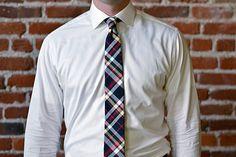 Sutter & Stockton Jackson Tartan Tie :: Maxton Men
