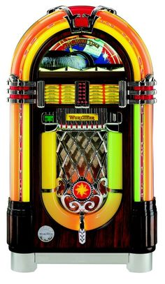The Original Wurlitzer Jukebox Model 1015,  The Rudolph Wurlitzer Co, usually referred to as simply Wurlitzer, was an American company started in Cincinnati, Ohio in 1853 by German immigrant Rudolph Wurlitzer and his Jukebox became the most famous and recognized one ever made.