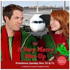 "Its a Wonderful Movie - Your Guide to Family Movies on TV: Hallmark Christmas Movie ""A Very Merry Mix Up"" starring Alicia Witt"