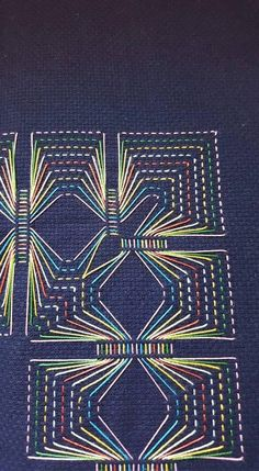 Huck Embroidery / Punto Yugoslavo / Swedish Weaving / Bordado Vagonite