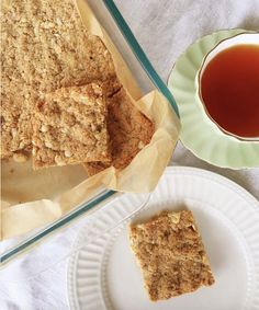 Grain Free Biscuits & Slice for Anzac Day! Sweet Recipes, Real Food Recipes, Cookie Recipes, Paleo Treats, Healthy Snacks, Almond Recipes, Scd Recipes, Recipies, Dulce De Leche