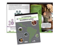 Diseño editorial - Stop Diseño Gráfico - Diseño de Booklet Foro latinoamericano inversión de impacto.