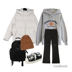 Best Vintage Outfits Part 16 Look Fashion, Korean Fashion, Winter Fashion, Fashion Outfits, Stylish Outfits, Winter Outfits, Cute Outfits, Looks Hip Hop, Outing Outfit