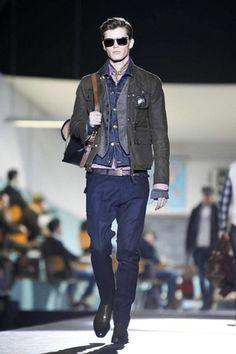 Dsquared2 Menswear Fall Winter 2012 Milan