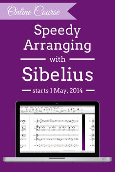 Online course: Speedy Arranging with Sibelius - learn how to scan music, import MIDI files the best way (including tips for cleaning them up quickly!) and working quickly and effectively to get arrangements done fast  http://www.midnightmusic.com.au/speedy-arranging-with-sibelius-online-course/