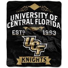 Repay Mom for all of those cozy hugs with a soft and fuzzy UCF Knights blanket from The Northwest Company.