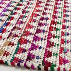 tapis tisse colore ethnique terrasse AMPM