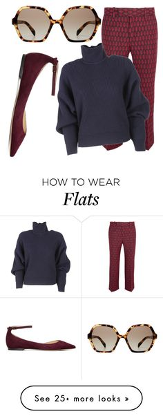 """Untitled #1941"" by jem0kingston on Polyvore featuring Prada, Gucci, Balenciaga and Jimmy Choo"