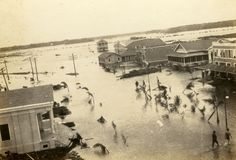 Florida Memory - Bird's eye view overlooking a section of Everglades City after…
