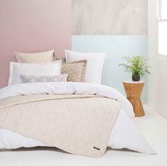 Spring Starts, Quilt Cover Sets, Linen Bedding, Pastels, Comforters, Designers, Quilts, Blanket, Bedroom