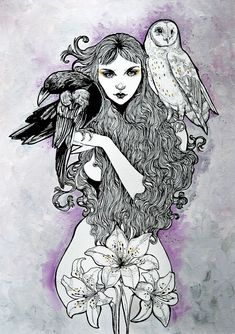 Artist Creates Dark Fairytale Paintings And Tattoos | Bored Panda