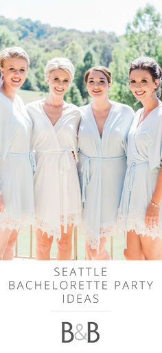 Seattle bachelorette party ideas, tips and tricks, pre-wedding fun // Emily Wakin Photography