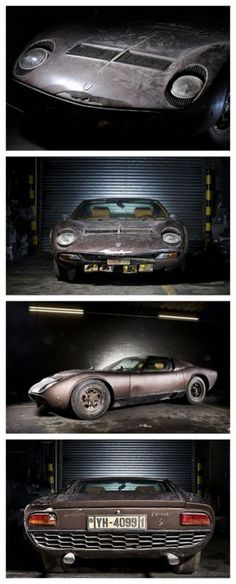 10 of the Greatest Barn Finds You'll Wish You Had Discovered! Some of the rarest cars on the Planet here. #LamborghiniMuira #Goldmine