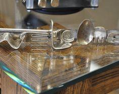 Cool ungewöhnliche Jahrgang Silvertone Gabel von BigDogLadysJools