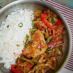 Chicken Basque Prosty kurczak na rodzinny obiad
