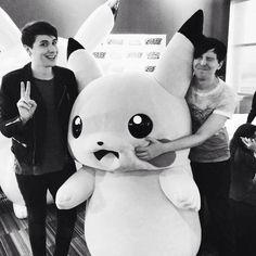 Dan and Phil | pikachu