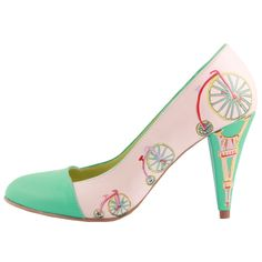 Custom made - Hand painted Retro Style Shoes Scarlett Johansson, Hand Painted Shoes, Fashion Heels, Your Shoes, Retro Fashion, Me Too Shoes, Hot, Custom Made, Kitten Heels