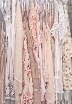 This is a refreshing wardrobe with pretty simple colors.