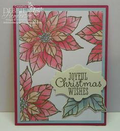 Stampin' Up! Joyful Christmas by Debbie Henderson, Debbie's Designs.